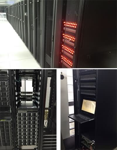 Our cluster servers in SEU